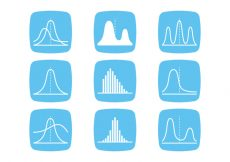 Free vector Bell Curve Icons #8303