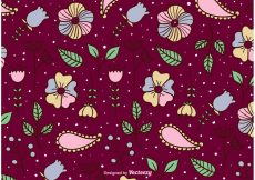 Free vector Blossom Floral Background #12148
