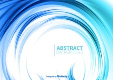 Free vector Blue abstract background #5728