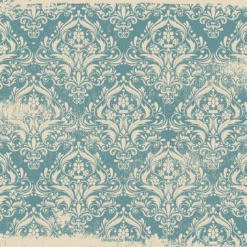 Free vector Blue Grunge Damask Background #11152