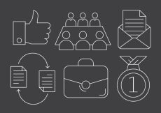 Free vector Business And Teamwork Icons #5780