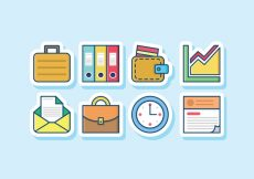 Free vector Business Icon Set #6773