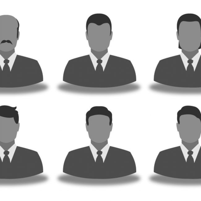 Free vector Business Man Icon Set #6141