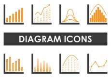 Free vector Diagram Icons #5276