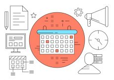 Free vector Free Management Planning Icons #6351
