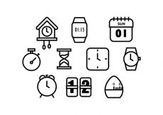 Free vector Free Time Icon Vectoer #9021