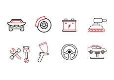 Free vector Garage Icon Set #5526