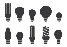 Free vector Light Bulb Icons Set #7035
