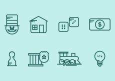 Free vector Monopoly Icon Set #7940