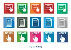 Free vector News Icon Set #9284