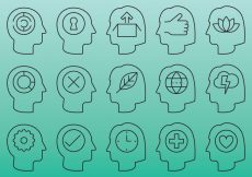 Free vector People Head Icons #6327