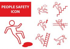 Free vector People Safety Icon #7822