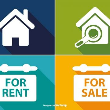 Free vector Real Estate Icon set #9280