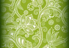 Free vector Vector Seamless Floral Background #9868