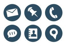 Free vector Vector Set of Office Icons #5386