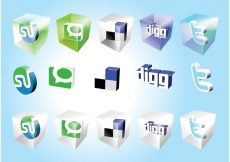 Free vector Social Bookmark Icons #7840