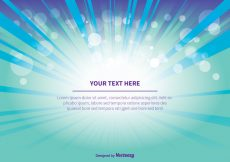 Free vector Teal Abstract Background Illustration #5684