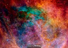 Free vector Vector Watercolored Outer Space Texture #11466