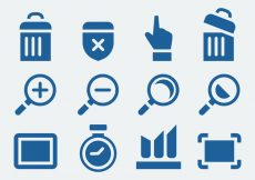 Free vector Website Icons Set #6084