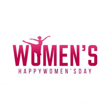 Free vector Women's day, simple background #11613
