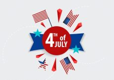 Free vector 4th of july background #16745