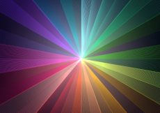 Free vector Abstract background of colorful stripes #17321