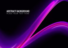 Free vector Abstract Background With Pink Wave #12994