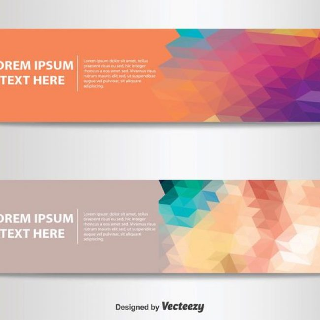 Free vector Abstract Banner Templates #12800