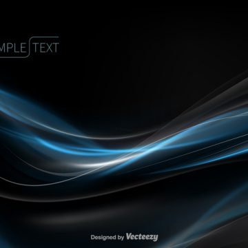 Free vector Abstract blue wave vector #18347