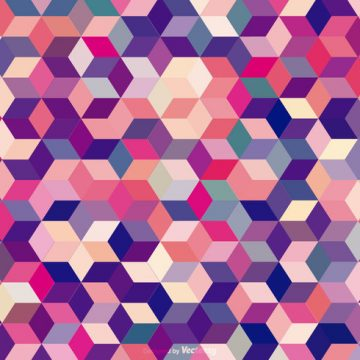Free vector Abstract Colored Cubes Background #16892