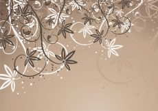Free vector Abstract floral background  #16915