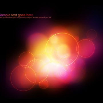 Free vector Abstract glowing lights background #17602