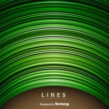 Free vector Abstract Green Lines Background #18520