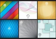 Free vector Abstract Logo Backgrounds #18920