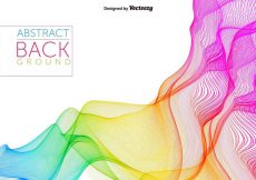 Free vector Abstract Rainbow Spectrum Vector Background #16898