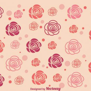 Free vector Abstract Roses Background #17152