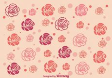 Free vector Abstract Roses Background #13206