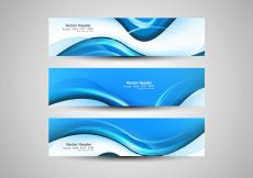Free vector Abstract Wave Banner #17267