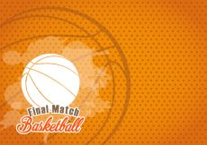 Free vector Basketball Texture Background #17122