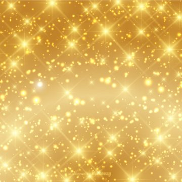 Free vector Beautiful Gold Sparkle Background Vector #17174