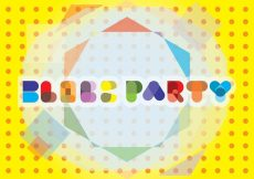 Free vector Block Party Typography Background #15012