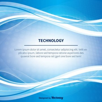 Free vector Blue Abstract Technlogy Vector Background #17874