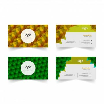 Free vector Business card pattern design #17288