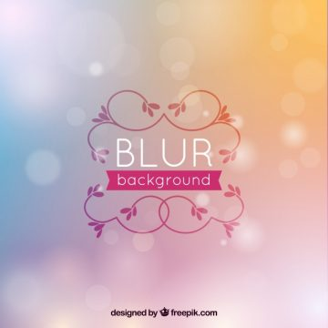Free vector Colored background with blurred effect #15703