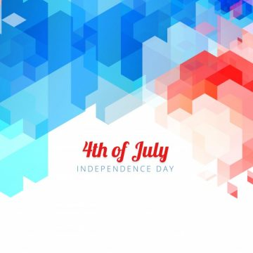 Free vector Colorful abstract design for independence day #17845
