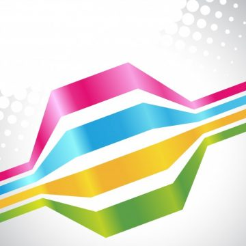 Free vector Colorful lines on white background #17622