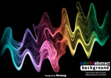 Free vector Colorful Spectrum Vector Background #12606