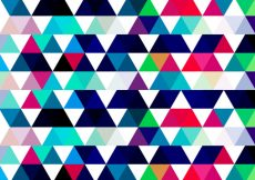 Free vector Colorful Triangular Background #13528