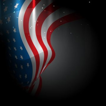 Free vector Creative dark design for independence day #17839
