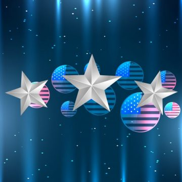 Free vector Decorative design for independence day #17831